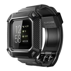 SUPCASE UB Pro armband Fitbit Sense - Schwarz