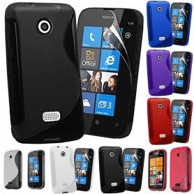 S Line silikon skal Nokia Lumia 510