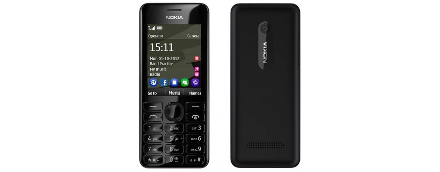 Köp mobil tillbehör till Nokia 206 hos CaseOnline